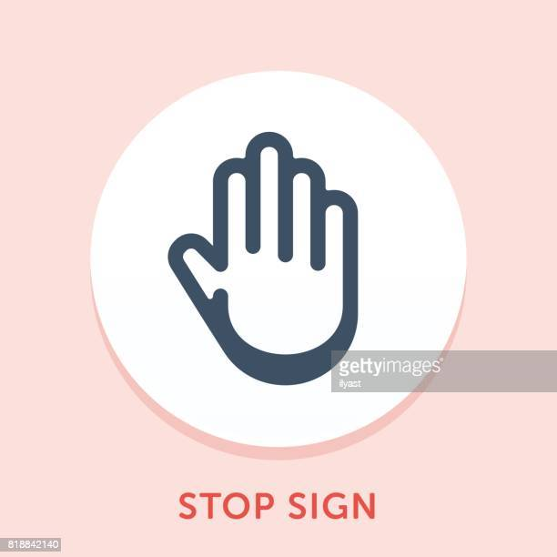 手 [曲線] アイコン - stealth点のイラスト素材/クリップアート素材/マンガ素材/アイコン素材
