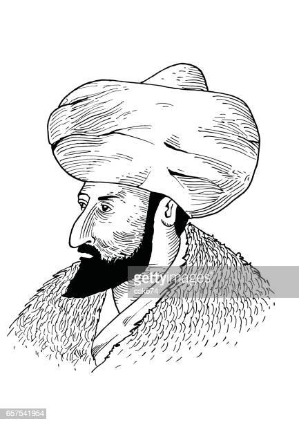 Hand drawing Sultan