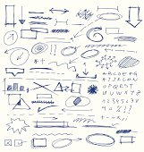 Hand Drawn Design Elements Collection
