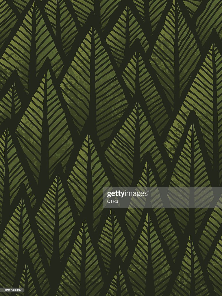 Hand drawn Forest Background