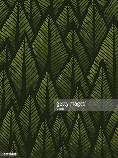 Hand drawn Forest Background