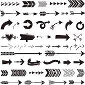 Hand Drawn Graphic Arrows
