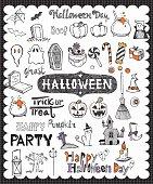 Hand drawn Halloween day