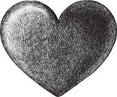 Hand Drawn Heart Symbol