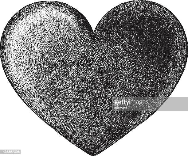 Hand Drawn Heart Symbol