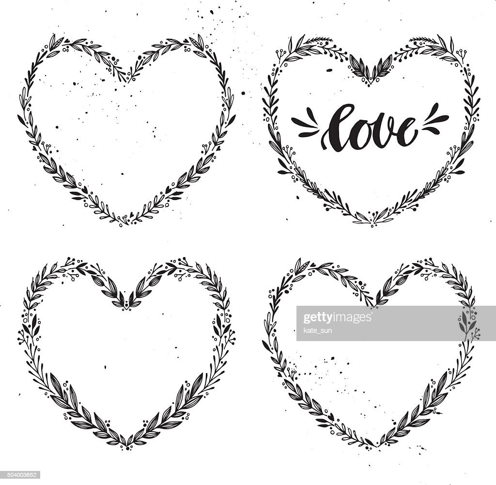 Hand drawn vector illustration. Vintage decorative collection