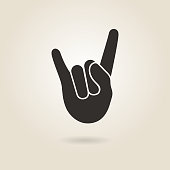 Hand Gesture Rock and Roll