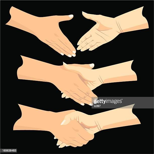 Hand Gestures - Shaking Hands