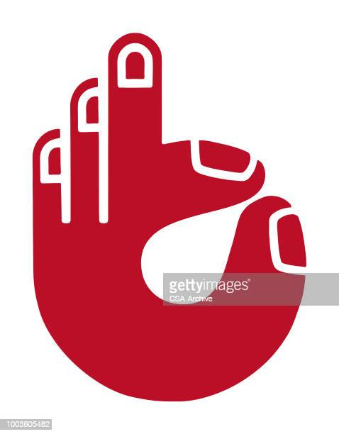 Hand Giving ok Sign