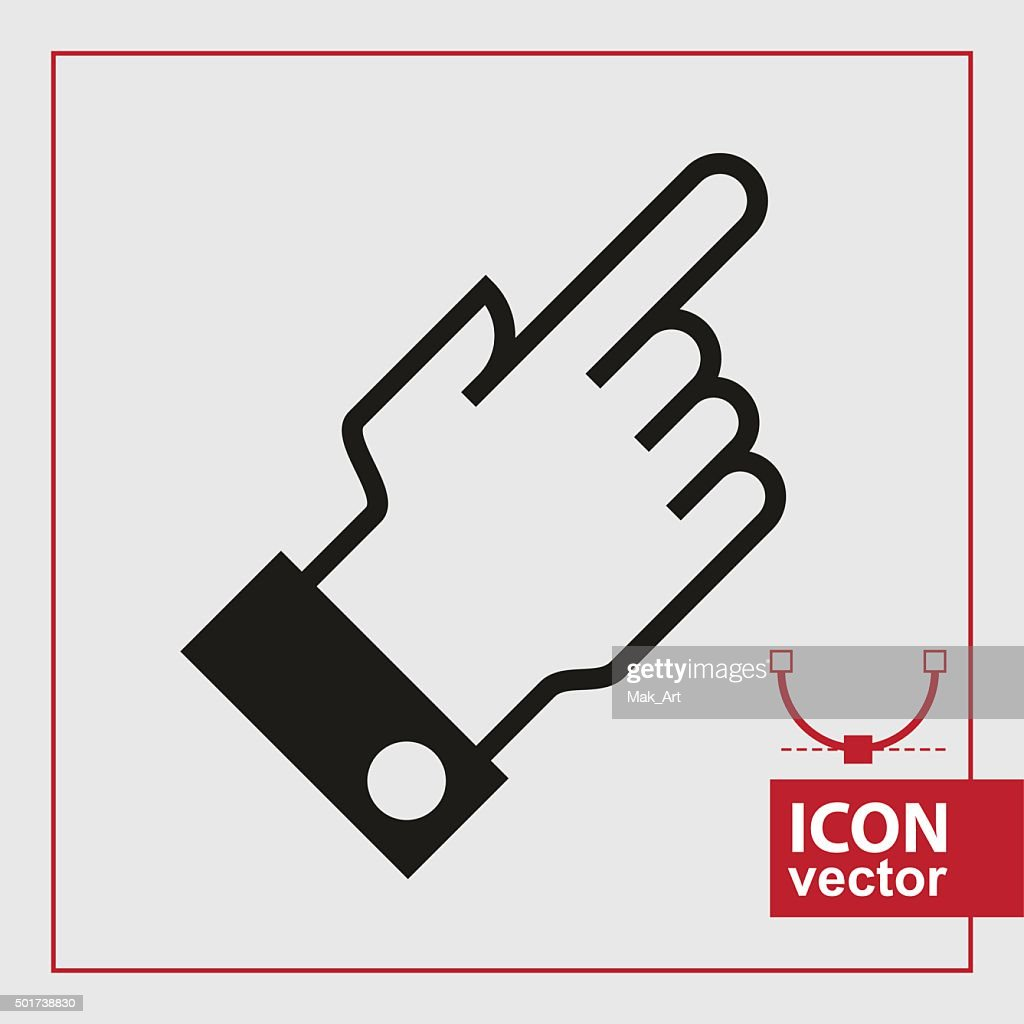 hand icon pointer