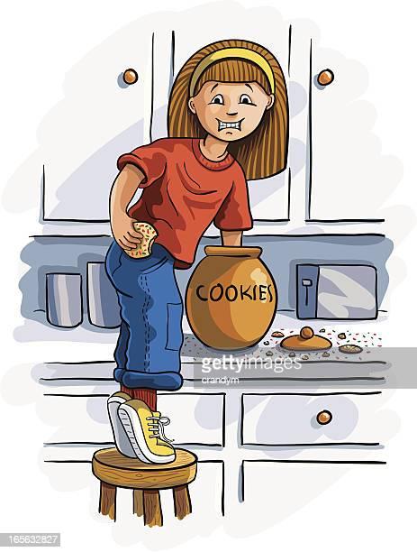 手作りのクッキーポット
