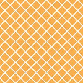 Hand painted geometric seamless pattern made of linear rhombus (diamonds)