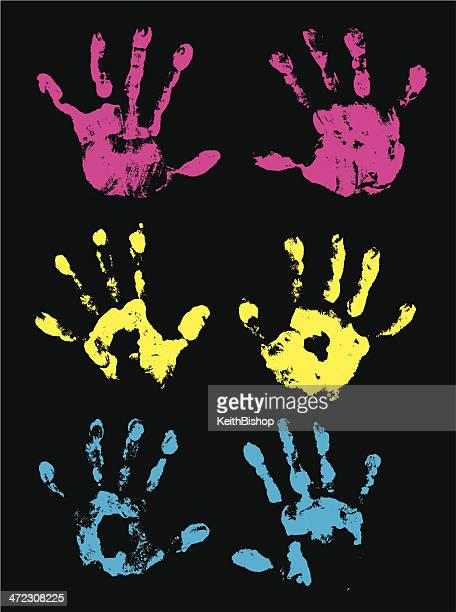 Hand Prints - Children