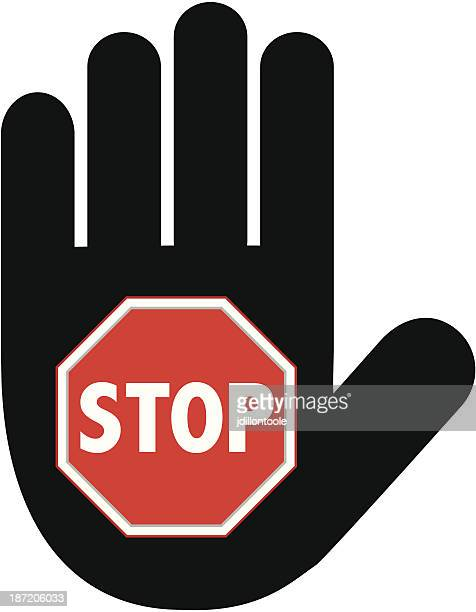 Hand Sign | Stop