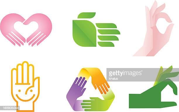 Symbole de la main
