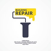 Hand tool for home renovation and construction. Building and house repair. vector illustration