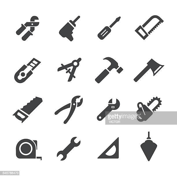 Hand Tool Icons - Acme Series