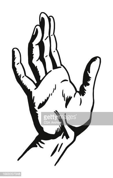 hand - high five stock-grafiken, -clipart, -cartoons und -symbole