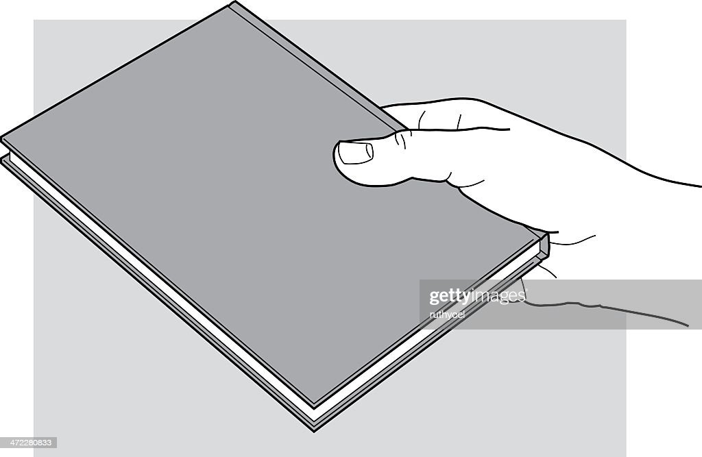 Hand with a closed book