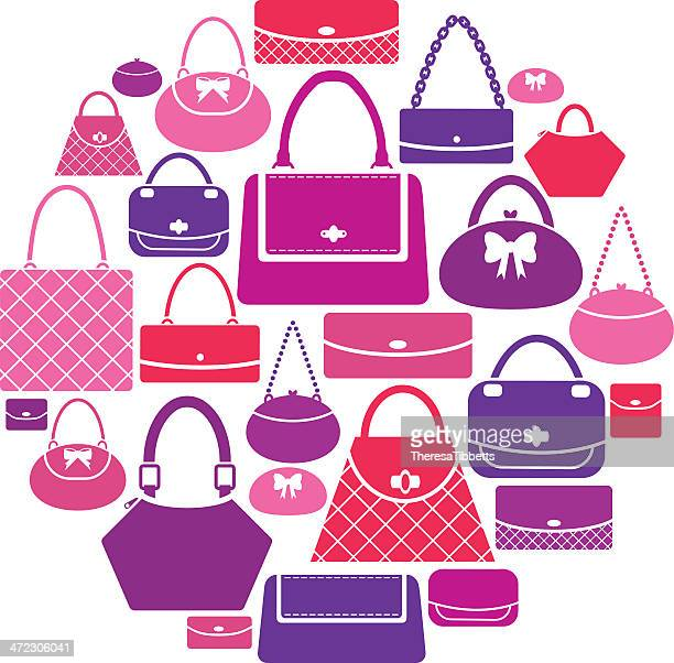 Handbag Icon Set