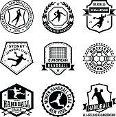 Handball Badges