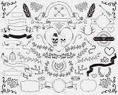 Hand-Drawn Doodle Design Elements
