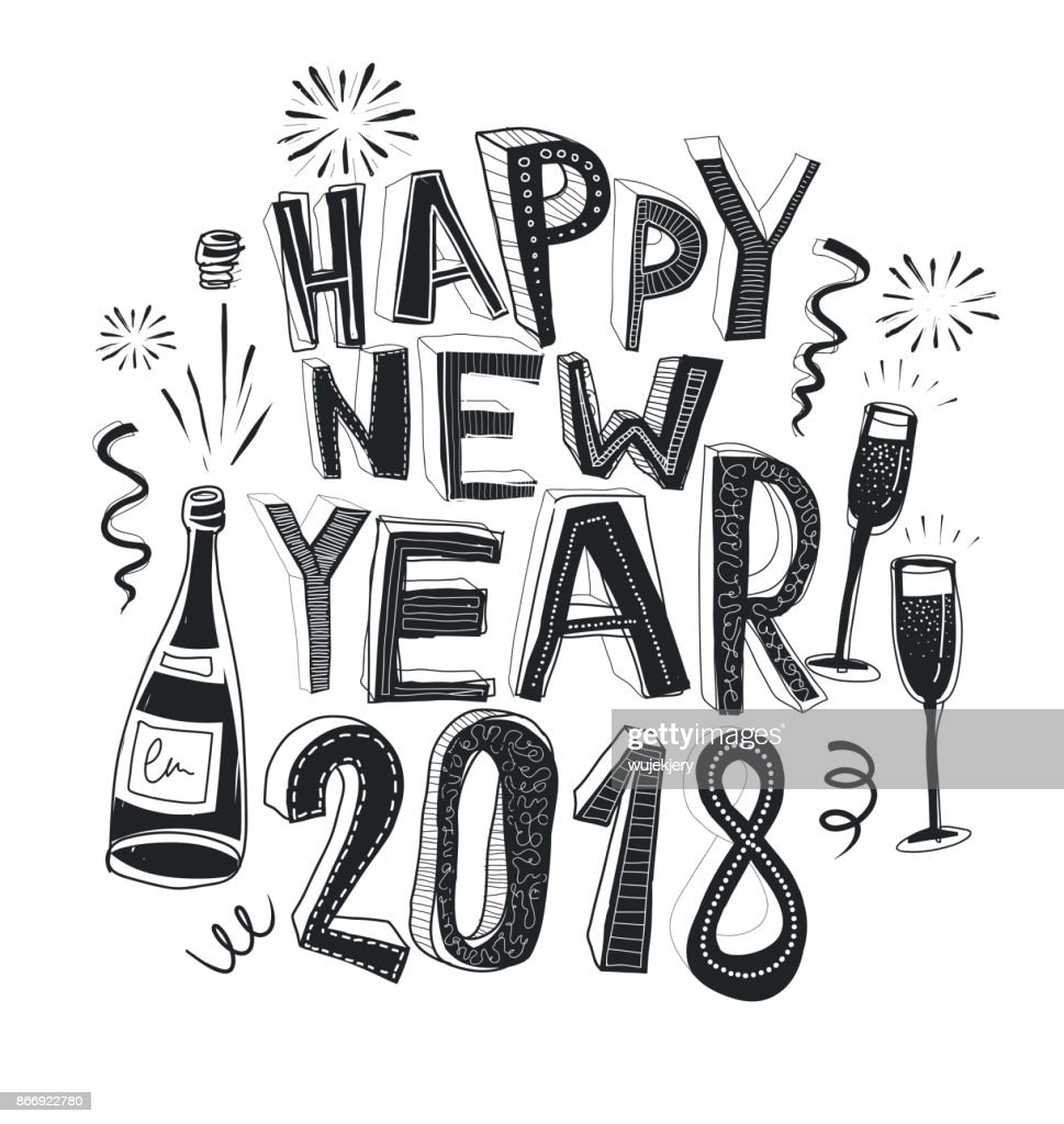 Happy New Year Doodle 69