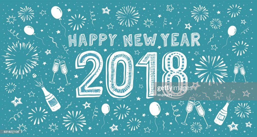 Happy New Year Doodle 90