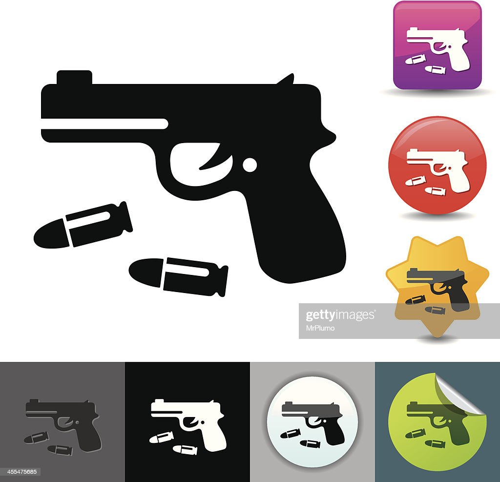 Handgun icon | solicosi series