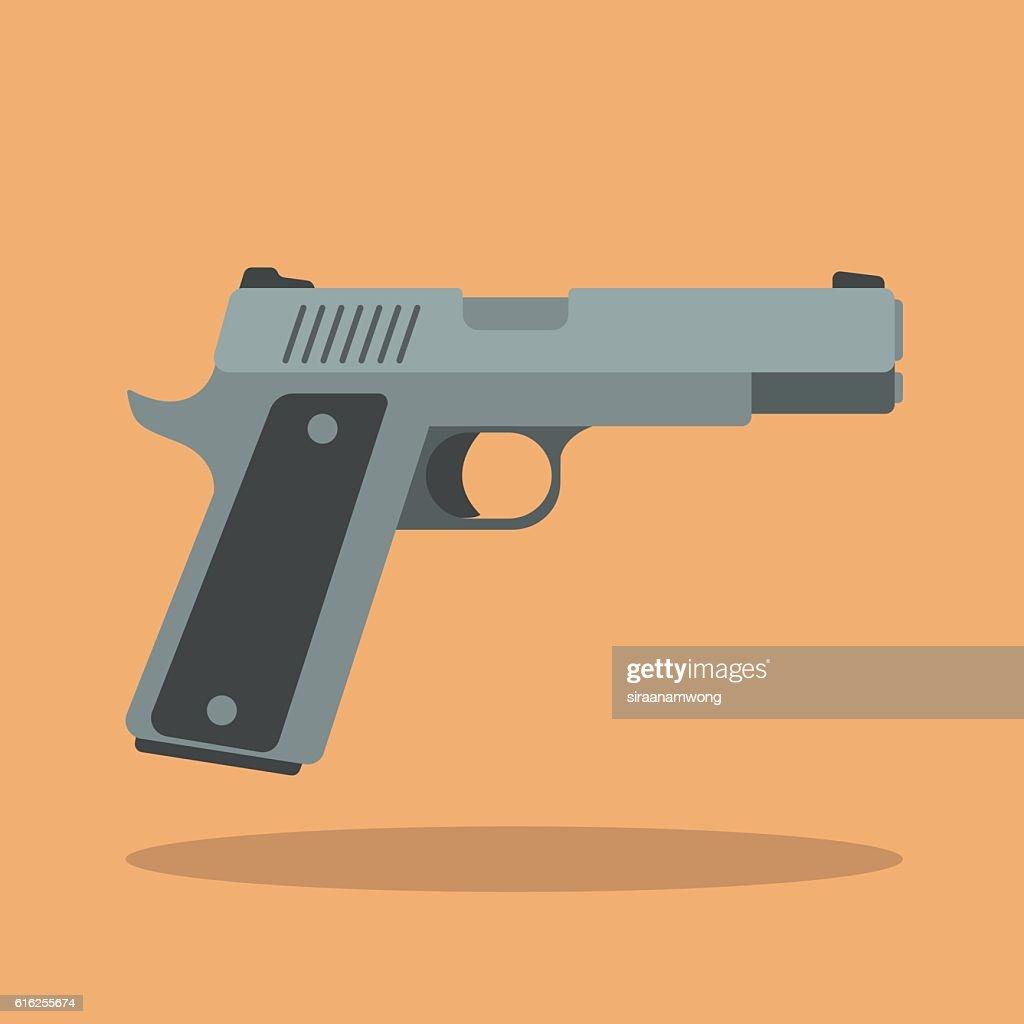Arma de mano  : Arte vectorial