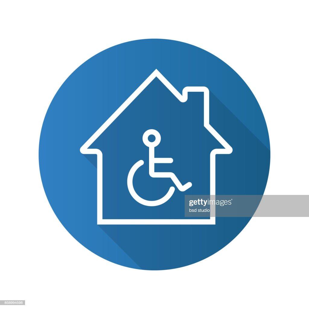 Handicap hospital icon