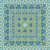 Handkerchief with delicate ornaments