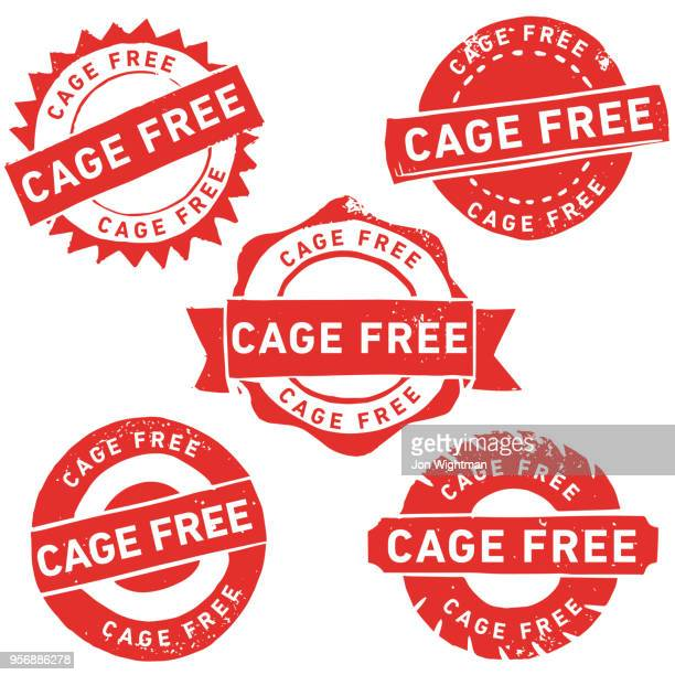 handmade linocut cage free rubber stamp - birdcage stock illustrations, clip art, cartoons, & icons