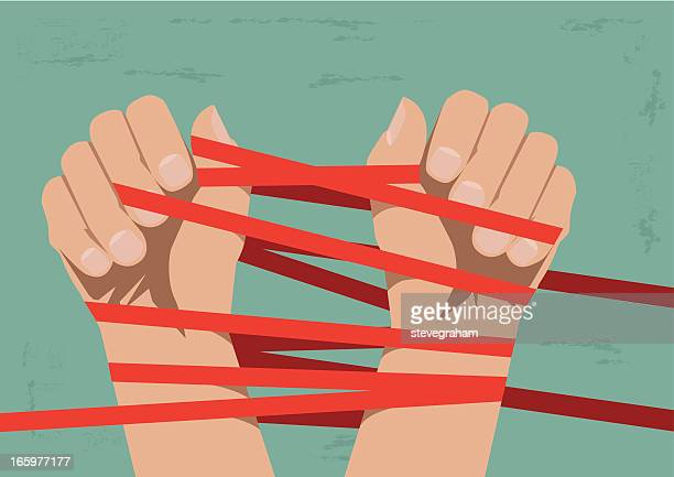 Hands Bound by Red Tape