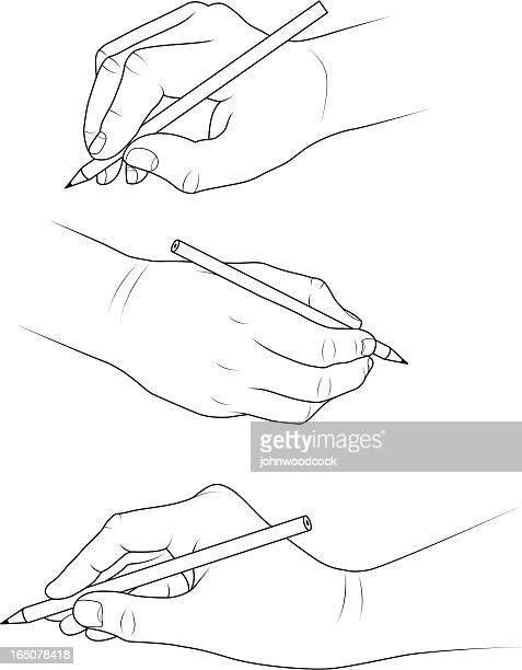 illustrazioni stock, clip art, cartoni animati e icone di tendenza di mani di disegno - pittore