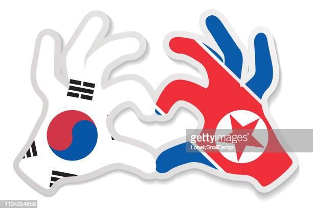 hands heart N_S_KOREA