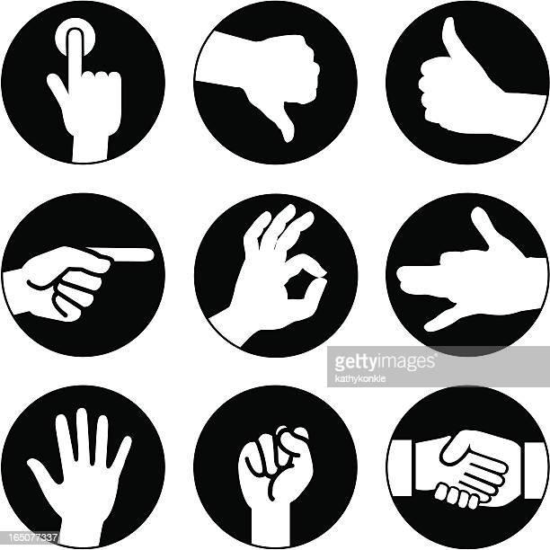 hands icons reversed