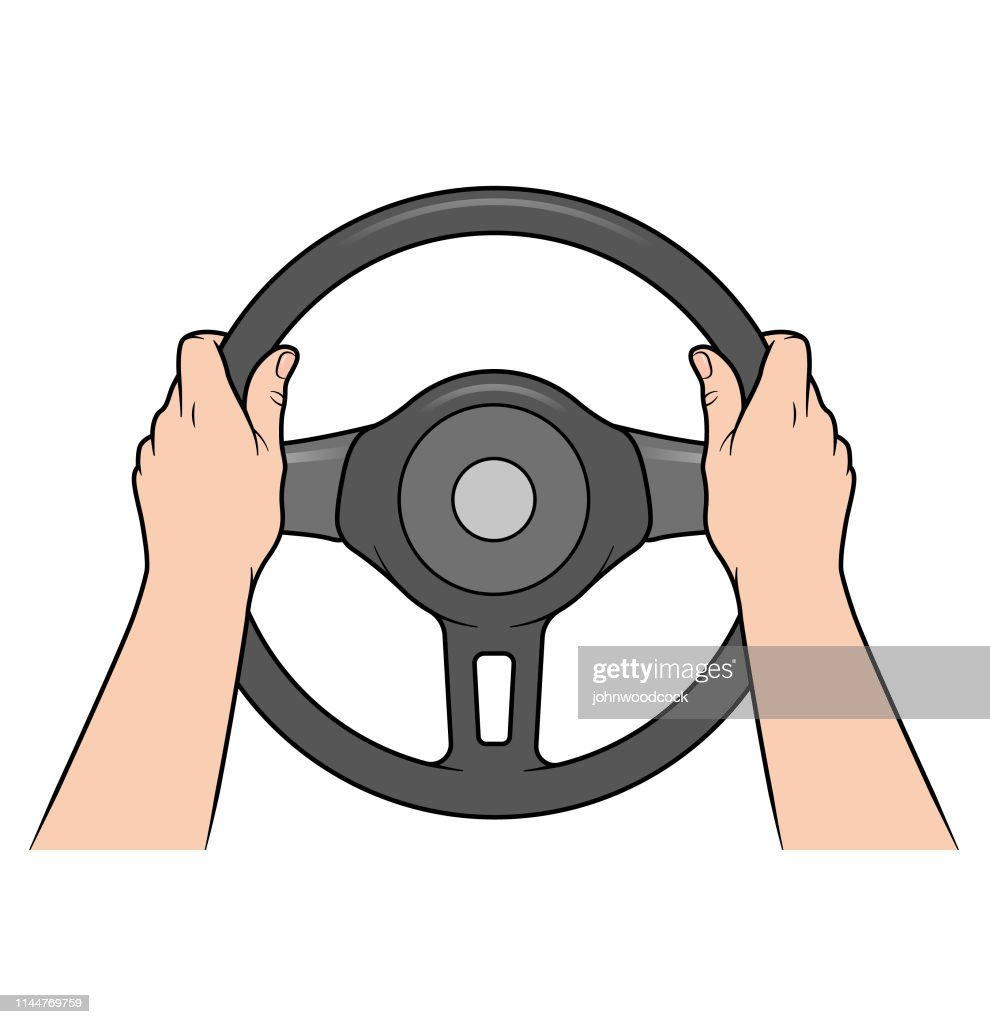 hands on steering wheel high res vector graphic getty images hands on steering wheel high res vector graphic getty images