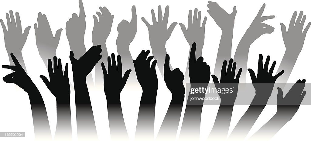 Hands : stock illustration