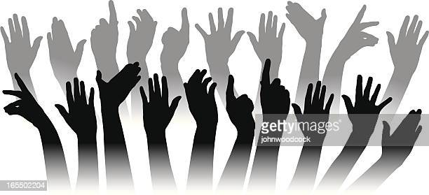 hands - applauding stock illustrations, clip art, cartoons, & icons