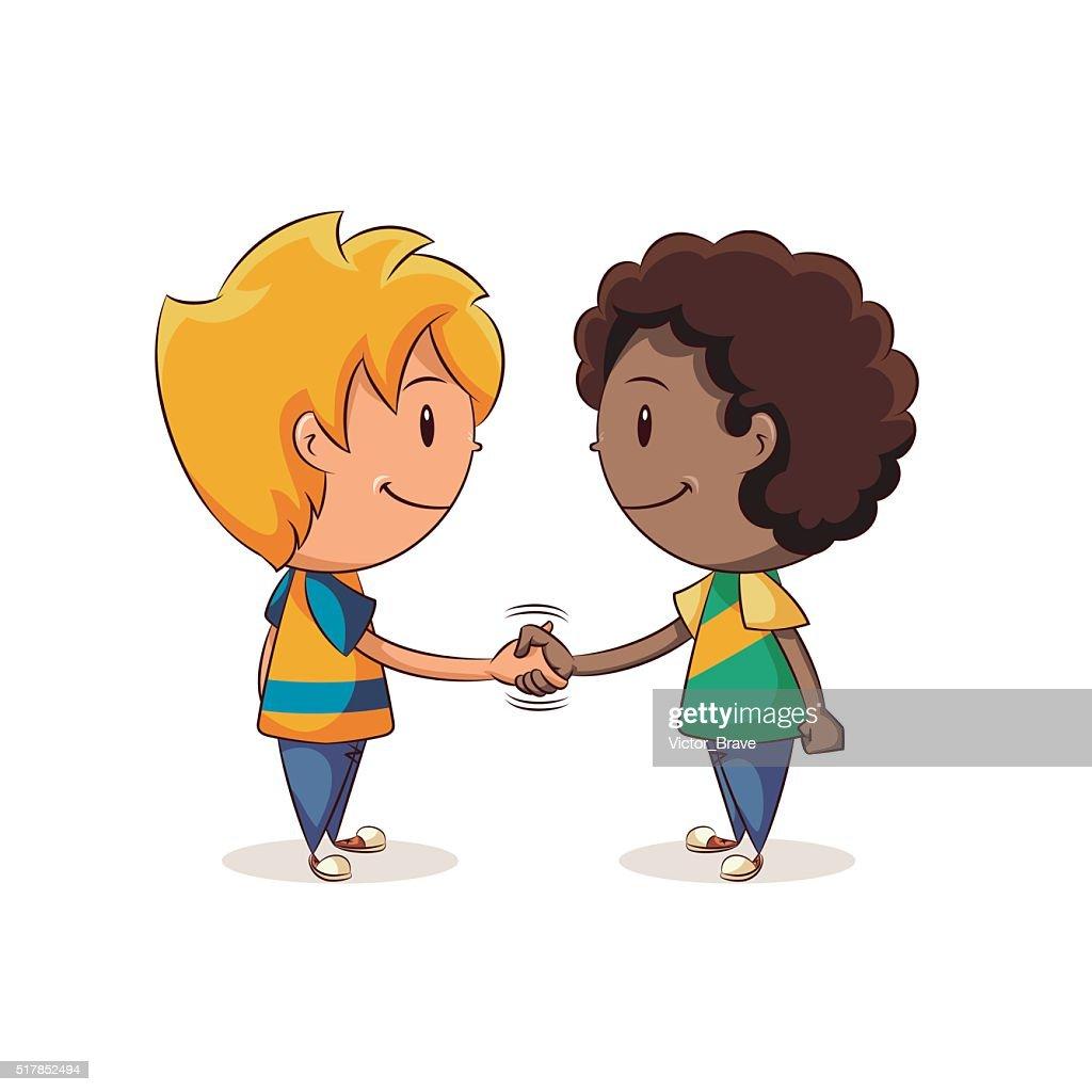 Handshake boys