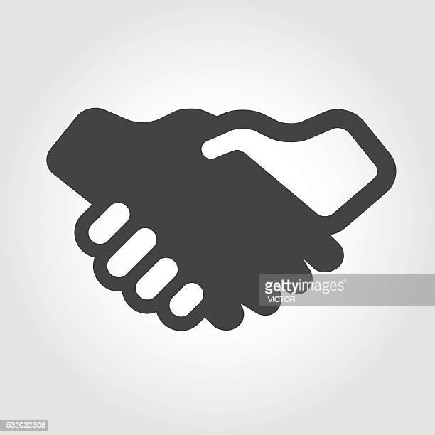 Handshake Illustration - Iconic Series