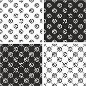 Handshake Seamless Pattern Set