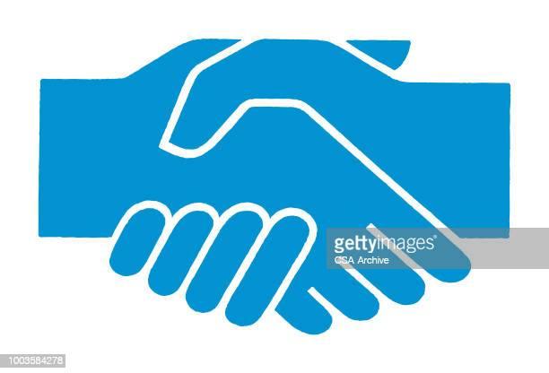 握手  - 握手点のイラスト素材/クリップアート素材/マンガ素材/アイコン素材