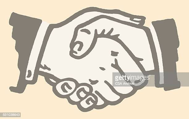 illustrations, cliparts, dessins animés et icônes de poignée de main - ambassadeur rôle social
