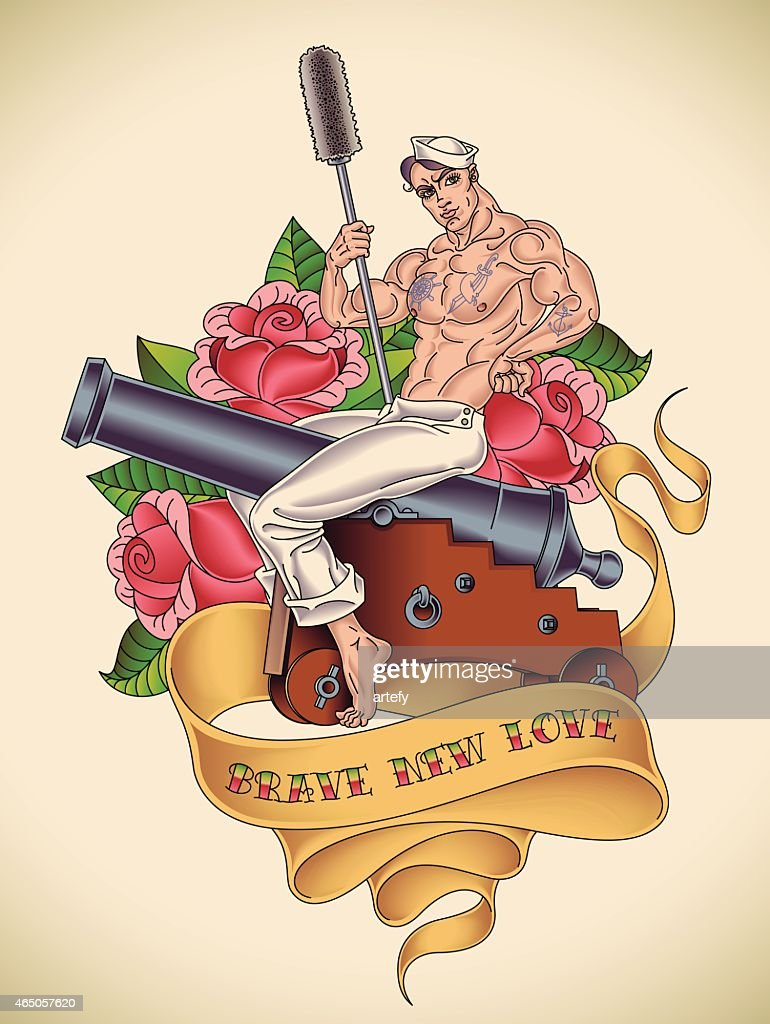 Handsome Sailor Tattoo