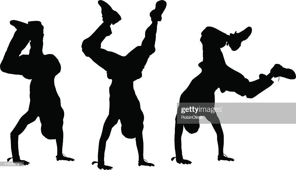 Handstand Silhouettes
