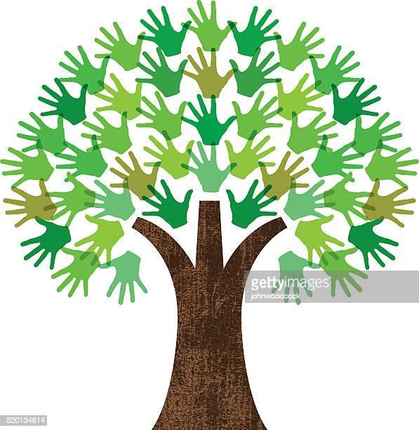 handy graphic tree - family tree stock illustrations, clip art, cartoons, & icons