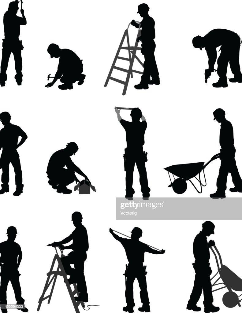 Handyman : Stock Illustration