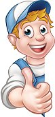 Handyman Worker Carpenter Mechanic or Plumber